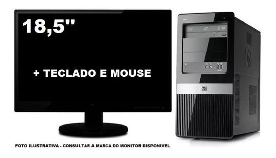 Computador Hp Dx2390 Core 2 Duo 4gb 120ssd Tela 18,5 Pol
