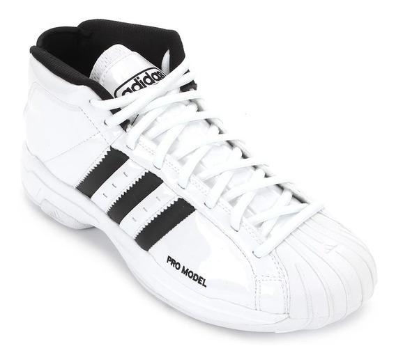 Tênis adidas Pro Model 2g Core Classic White
