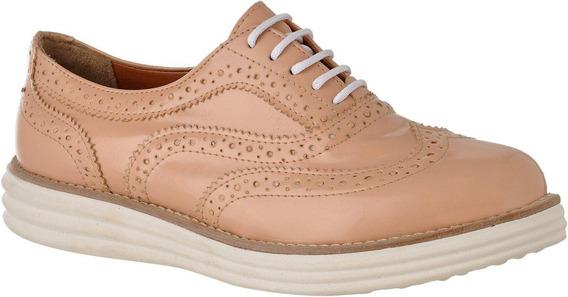 Sapato Sapatenis Oxford Feminino Metalizado 4 Cores L.a.300