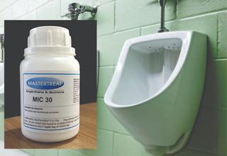 Mic 30 Aditivo Para Mictórios Desentope E Elimina Odor Mictórios Banheiros-kit 5 Potes ; Melhor Que Urinal