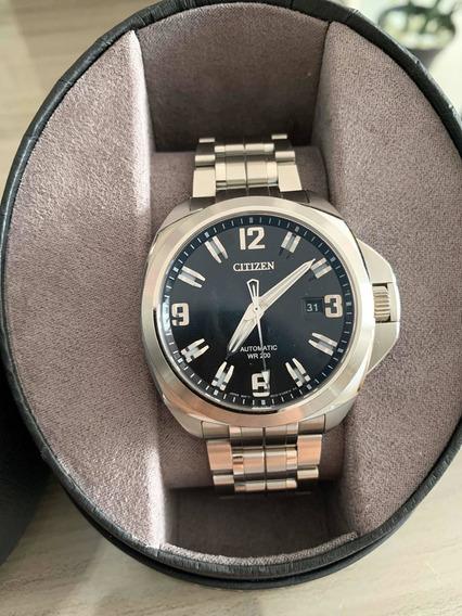Relógio Citizen Automático Safira Nb0070-57e