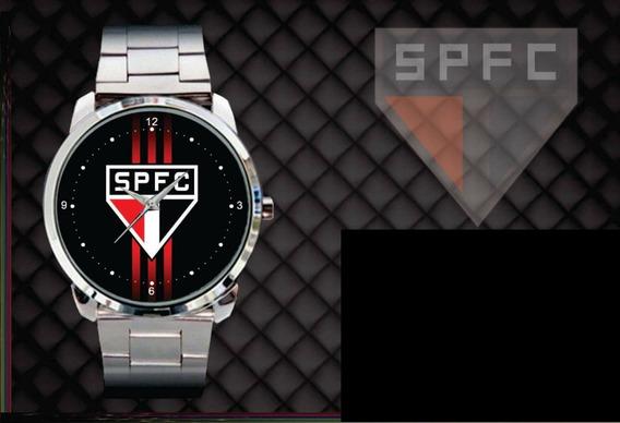 Relógio De Pulso Personalizado São Paulo Futebol Clube Tri
