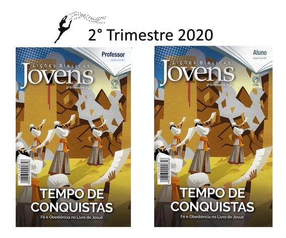 Kit Revistas Lições Bíblica Jovens - 10 Alunos + 2 Professor