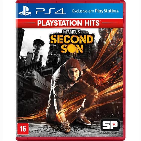 Infamous: Second Son Playstation Hits Ps4 Mídia Física Novo