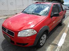 Fiat Strada Working 1.4 Flex Completa Cabine Dupla 2013