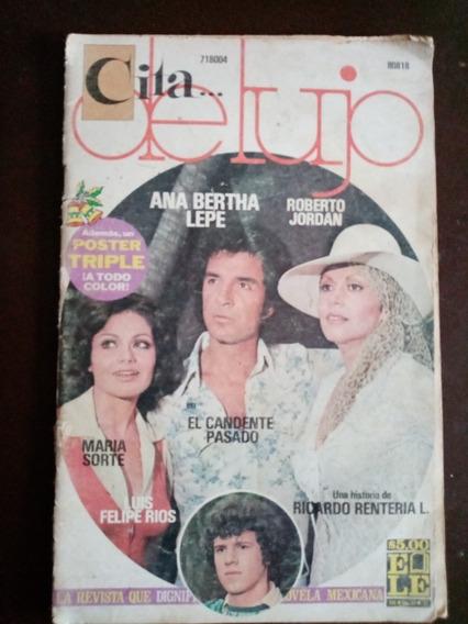 Ana Bertha Lepe Y María Sorte En Fotonovela Cita De Lujo