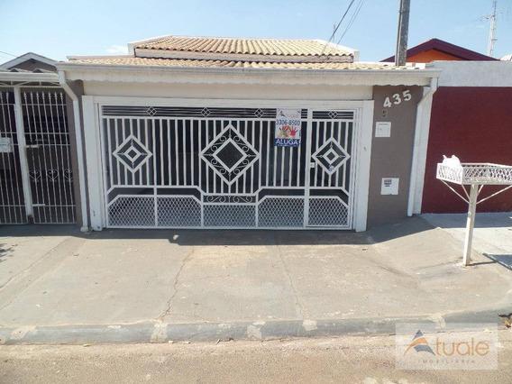Casa Com 3 Dormitórios À Venda, 210 M² Por R$ 350.000,00 - Jardim João Paulo Ii - Sumaré/sp - Ca5033