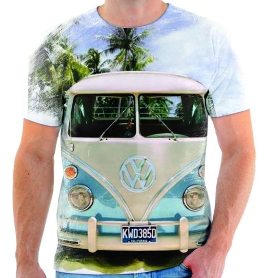 Camiseta Camisa Blusa Kombi Carro Perua Automóvel 13