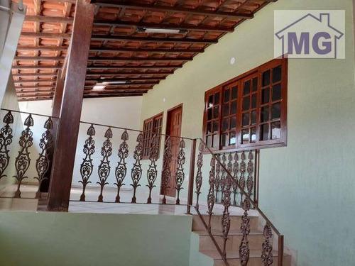 Casa Com 3 Dormitórios À Venda, 100 M² Por R$ 370.000 - Jardim Santo Antônio - Macaé/rj - Ca0419