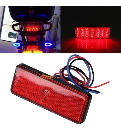 1 Reflector Luz Led Stop Tragaluz Moto/carro Universal Imper