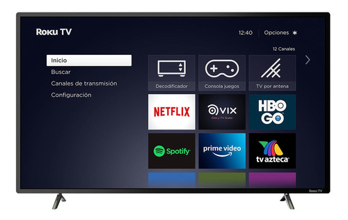 Imagen 1 de 2 de Tv Jvc 42 Pulgadas Smart Tv Full Hd Si42fr Roku Tv