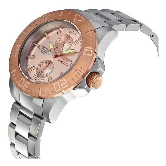 Relógio Invicta Pro Diver 14347 ! Gold 18k! Novo! Na Caixa.