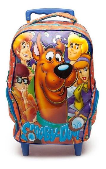 Mochila De Rodinhas Infantil 16 Scooby-doo Friends