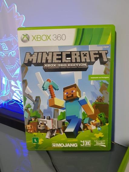 Jogo Minecraft Mídia Física Xbox 360 Totalmente Em Português