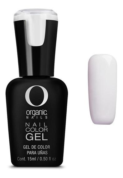 Color Gel Esmalte Uñas By Organic Nails Color Sailor White