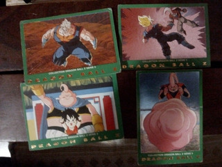 Lote 41 Trading Cards Dragon Ball Z Serie 2,3,4,5