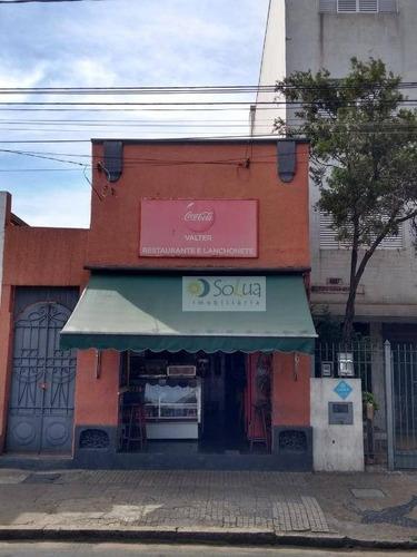 Barracão Para Alugar, 113 M² Por R$ 6.000,00/mês - Centro - Campinas/sp - Ba0038