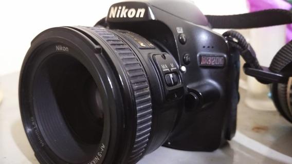 Nikon D3200 + Lente 50mm 1.8 + Cartão De Memoria 32gigas