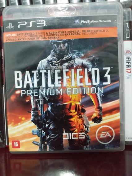 Battlefield 3 Premium Edition Ps3 Física Sem Juros