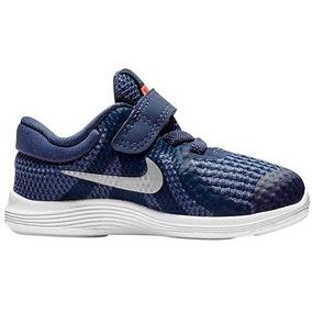 Tenis Nike Revolution 4 Morado Tallas De #13 A #16 Niña Ppk