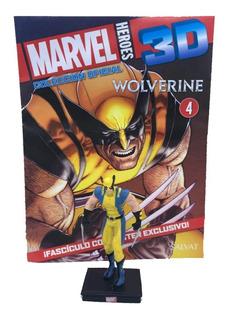 Figuras Marvel 3d Nº 04 Wolverine