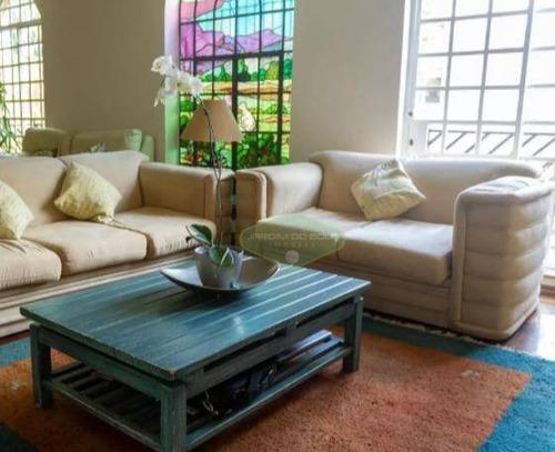 Casa Com 4 Dormitórios À Venda, 300 M² Por R$ 2.240.000,00 - Brooklin - São Paulo/sp - Ca0881