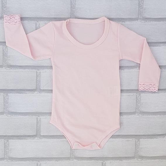 Body Infantil Segunda Pele Kit 4 Pçs