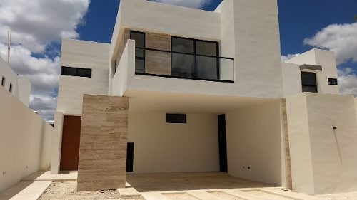 Casa Nueva En Venta En Privada Arbórea, Lote 100, Conkal, Mérida Norte