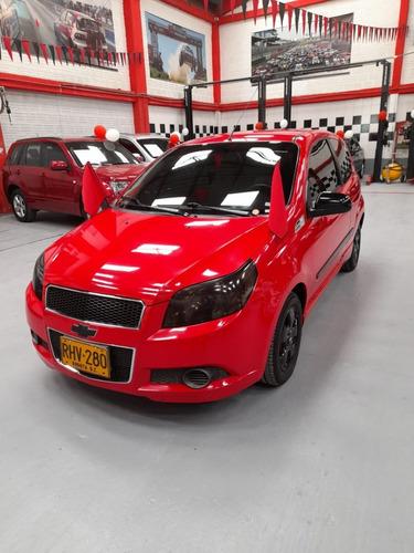 Chevrolet Aveo Emotion 2011 Rojo