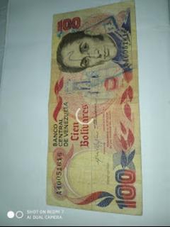 Billete De 100 Venezolano