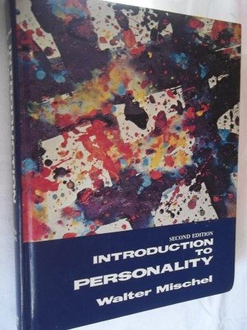 * Walter Mischel - Introduction To Personality - Psicologia