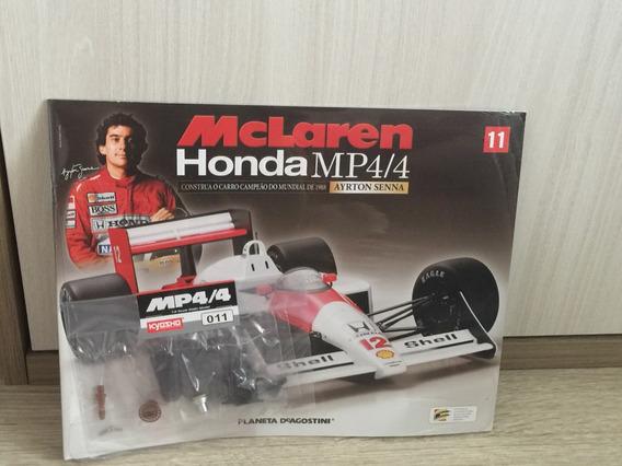 Miniatura Fascículo 11 Mclaren Honda Mp4/4 - Ayrton Senna