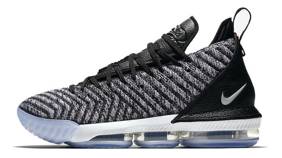 Tênis Nike Lebron 16 Oreo - Cinza/preto