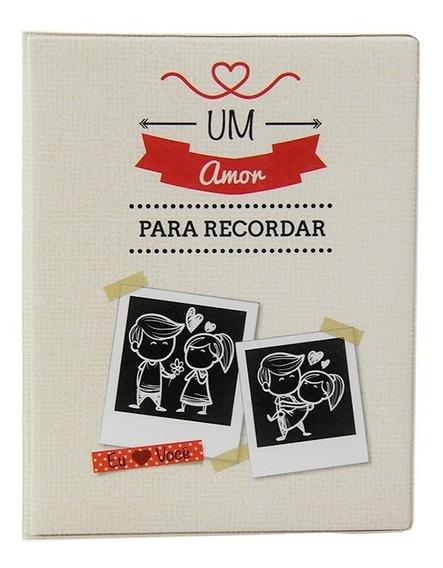 Álbum De Fotos 500 Fotos Namorados 10x15 + Adesivos - 10009