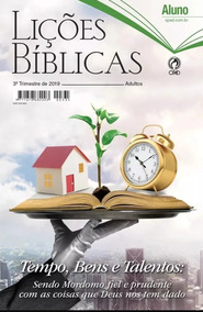 Kit Revistas Ebd C/ 14 Aluno + 1 Professor - 3º Tri / 2019