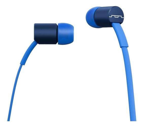 Audífonos Sol 3.5mm Azul