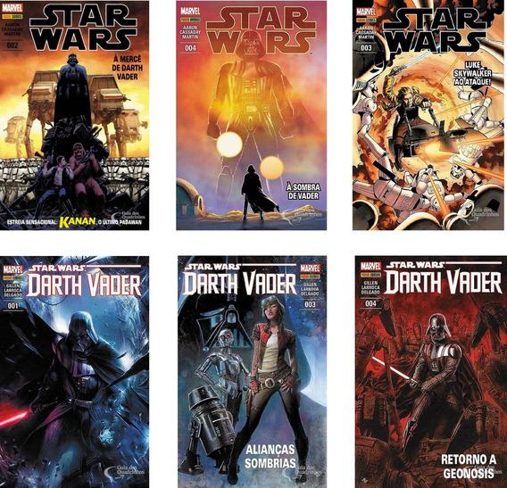 Panini Marvel Star Wars E Darth Vader Escolha Sua Hq