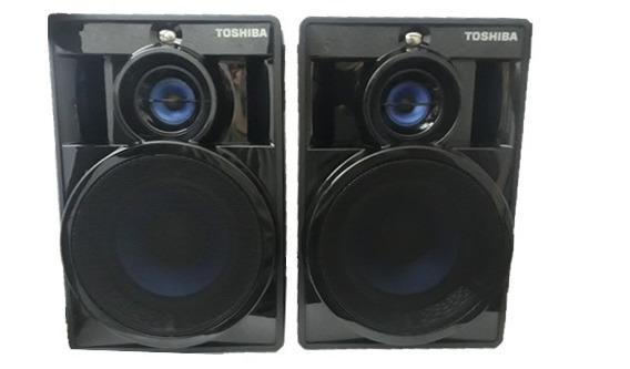 Caixa De Som Original Toshiba 300w Rms Ss8050 4ohms O Par