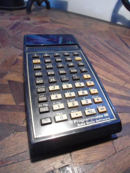 Calculadora Texas Ti Programable 58 - No Estado