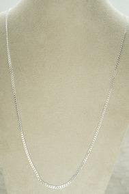 Conjunto Corrente Pulseira Grumet Flat 70 Cm (g) Prata 925