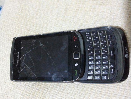 Blackberry Torch 9800 Quebrado Peças Partes Concerto