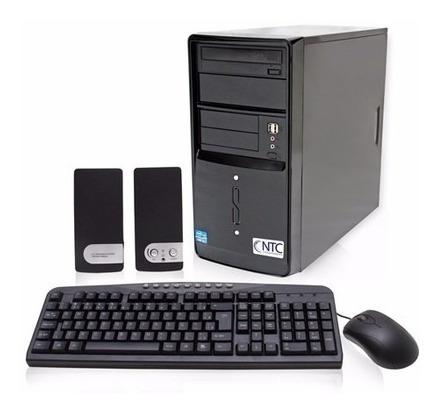 Computador Ntc Com Intel Celeron D1800m, 4gb, Hd 500gb