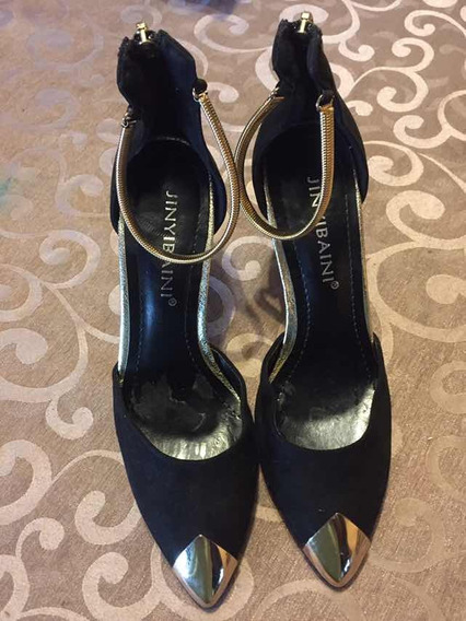Zapatos Mujer Taco Alto Numero 35