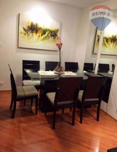 Apartamento Com 3 Dormitórios E 1 Vaga De Garagem - Jabaquara. - Ap10379