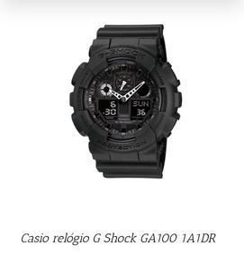 Casio Relógio G Shock Ga100 1a1dr ( Frete Grátis )
