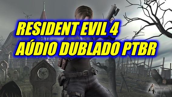 Jogo Pc Patch Resident Evil 4 Dublado (midia Digital)