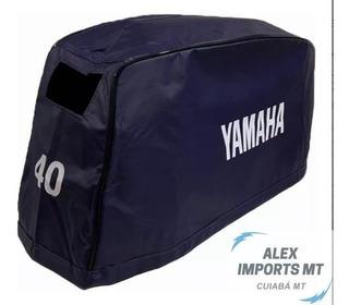 Capa De Capô Motor De Popa Yamaha 40 Hp X Minas Gerais Mg