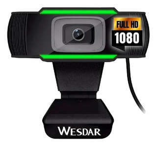 Camara Web Webcam Full Hd 1080p Usb Microfono Video Skype En