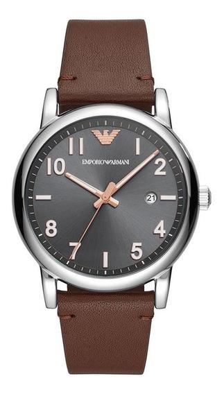 Relógio Masculino Emporio Armani Luigi Prata Ar11175/0mn