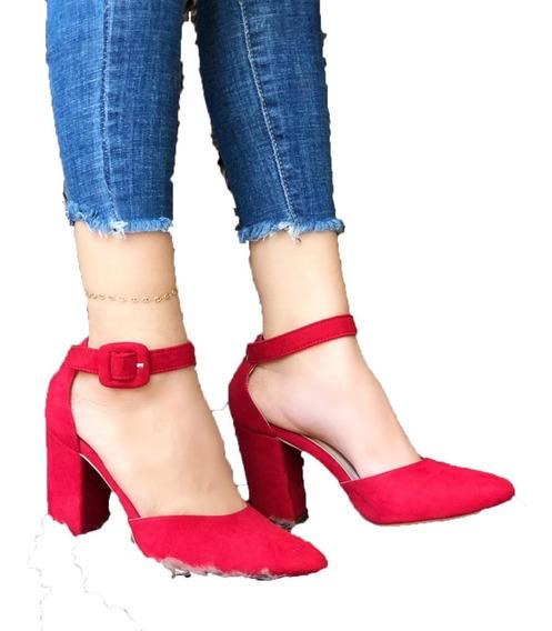 Zapato Elegante Para Dama Con Tacón